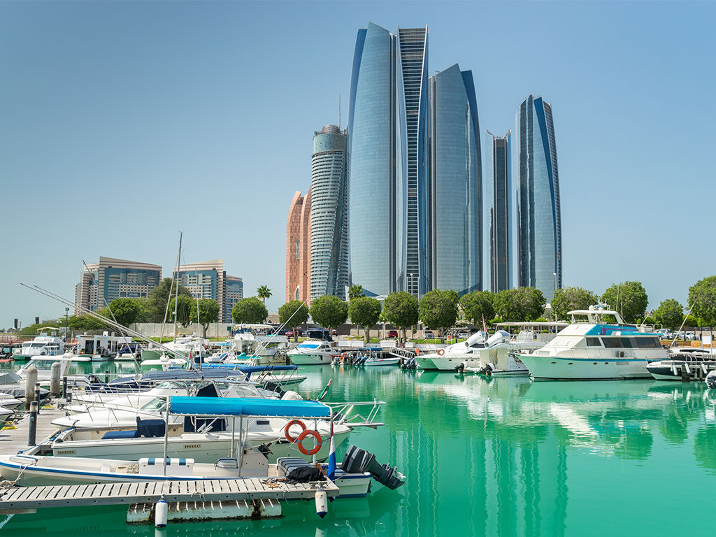 Abu Dhabi is the capital and the second most populous city in the United Arab Emirates.